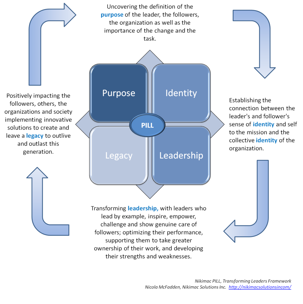 Figure A: Nikimac PILL, Transforming Leaders Framework