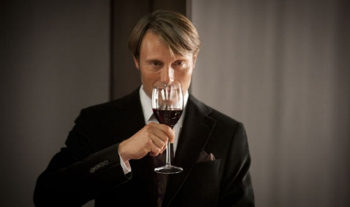 Dr Hannibal Lecter in the Hannibal TV series    Credit: Express