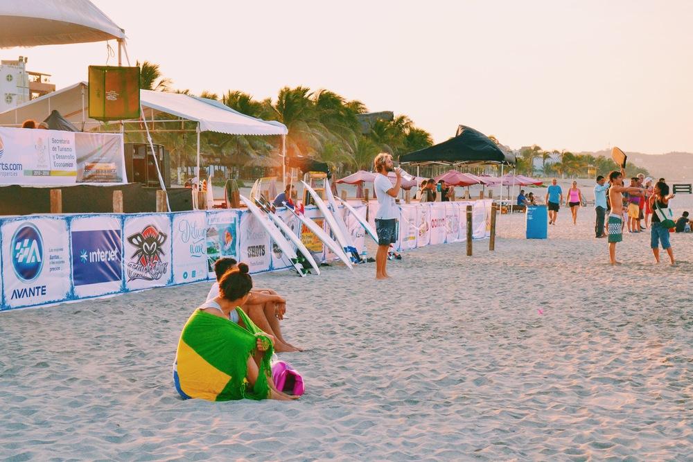 surf tournament puerto escondido
