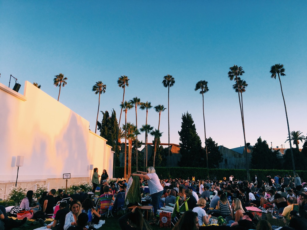 picnic time with cinespia