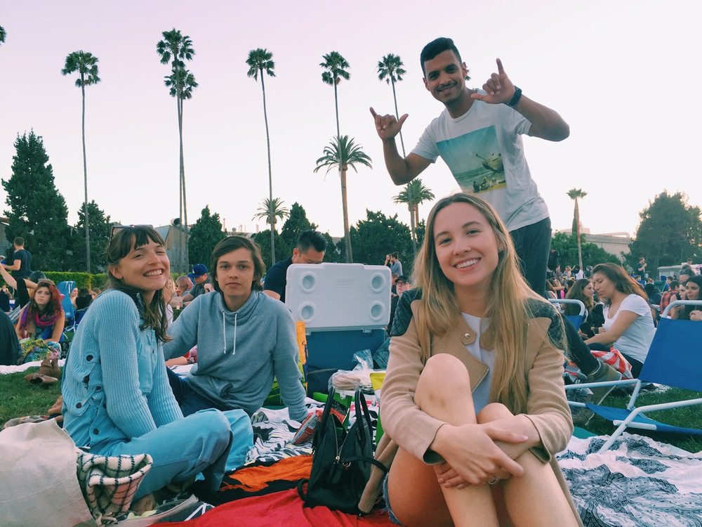 movie time at Hollywood forever