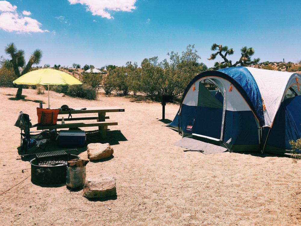 camping-setup-jumbo-rocks