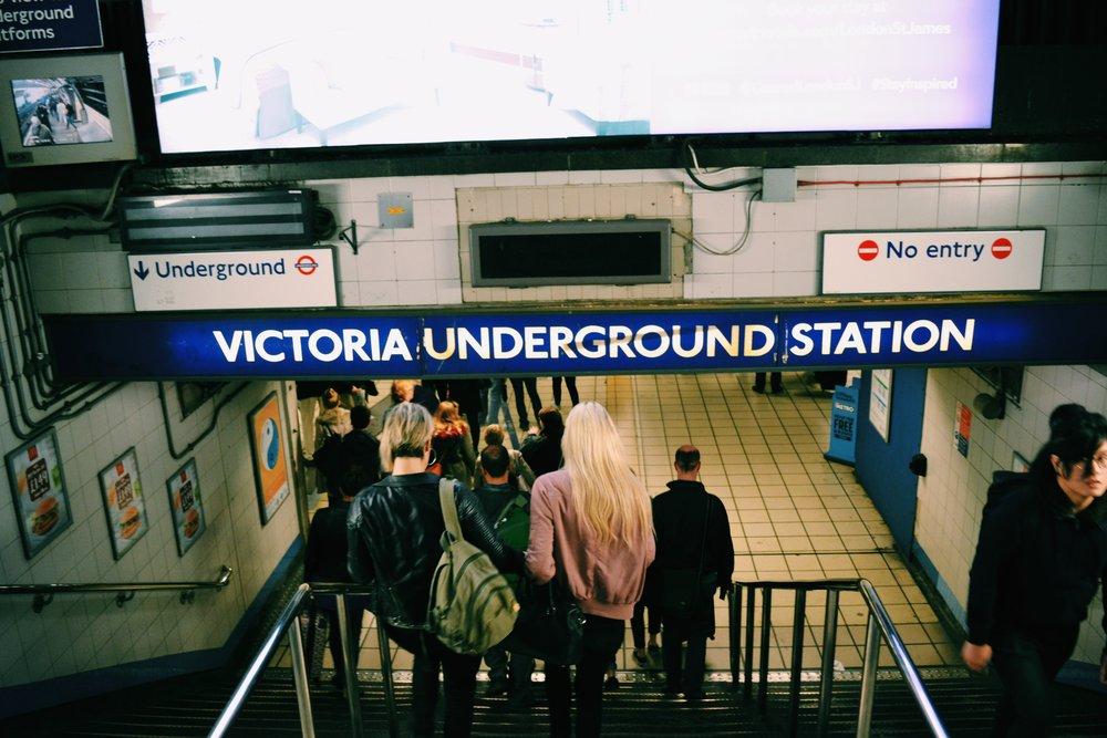 victoria-underground-entrance-london