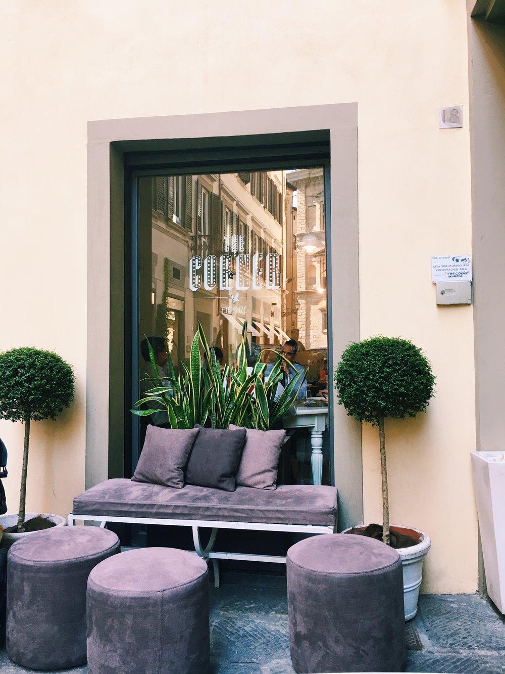 the corner restaurant, florence