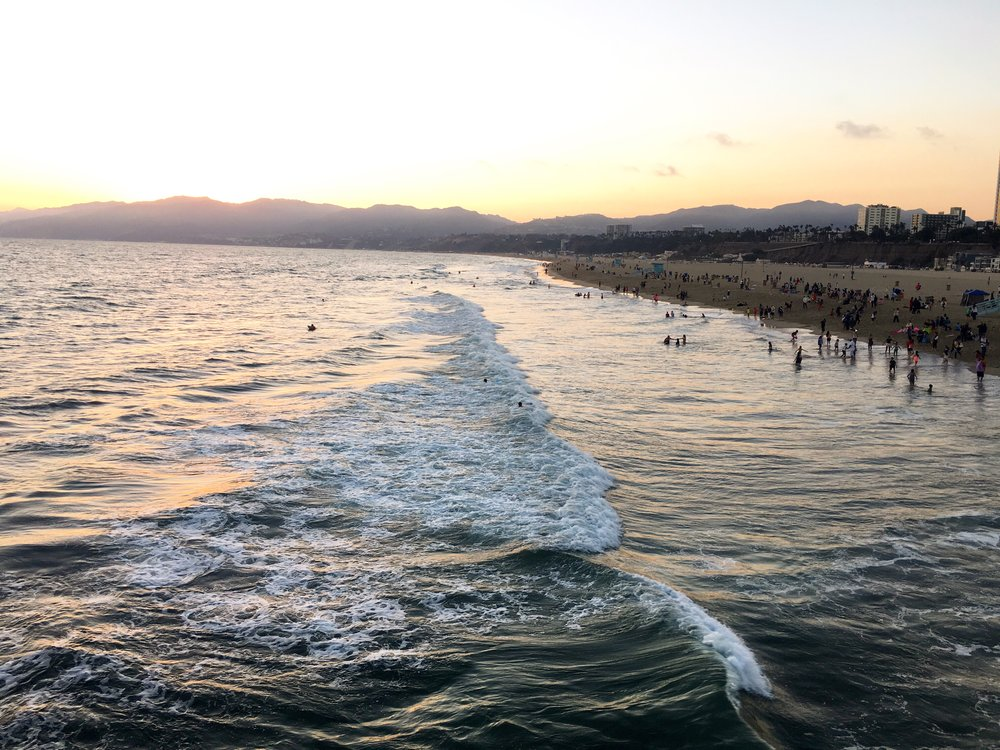 santa-monica-sunset-from-pier
