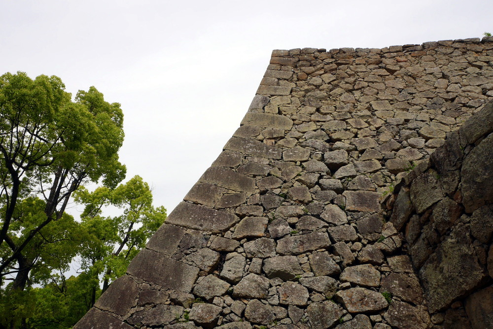 Impossible wall, Himeji Castle