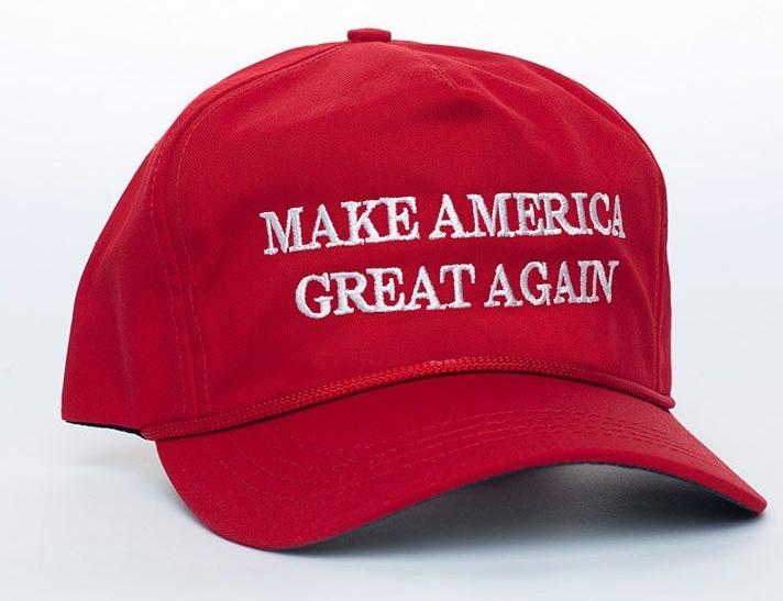 Image: Trump website