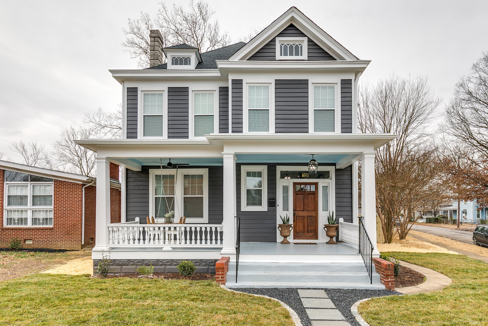 richmond rehabbers final reveal front house