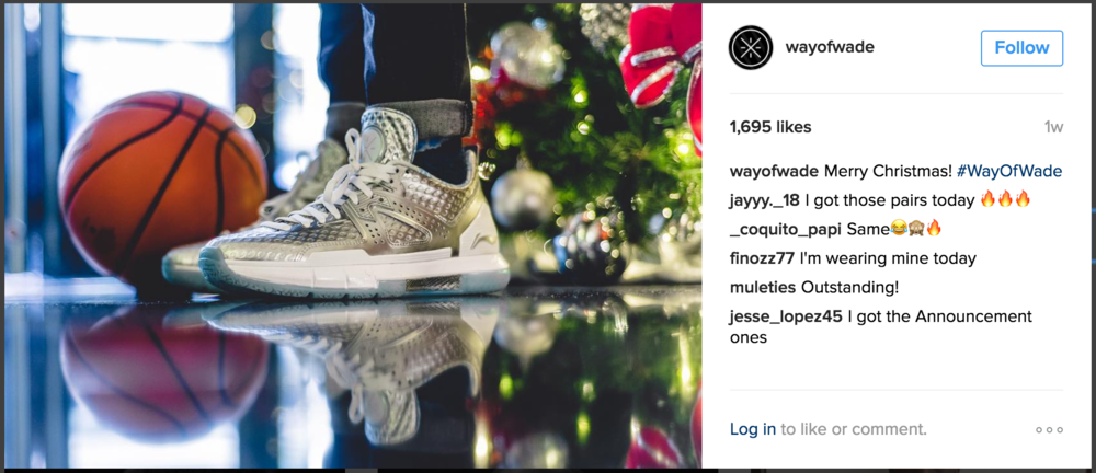 Way of Wade IG Christmas Collection