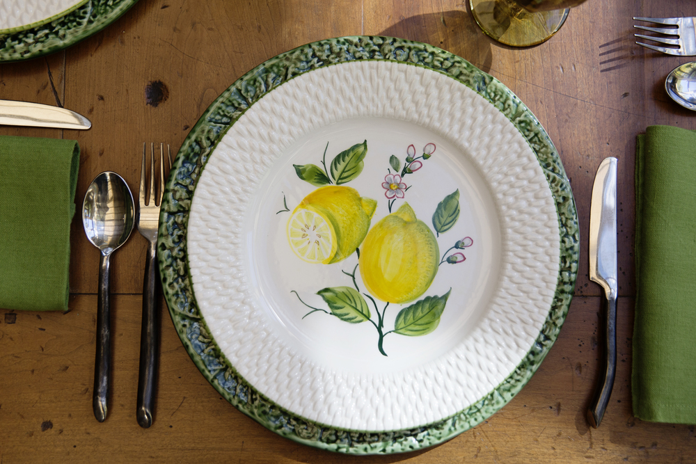 Lemon Table Setting