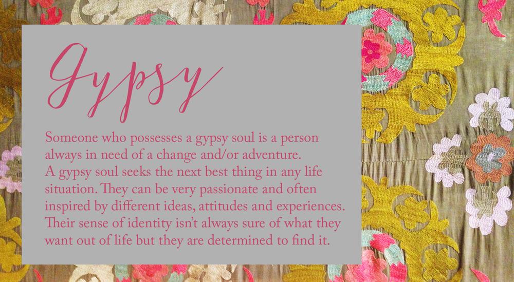 how to live like a gypsy