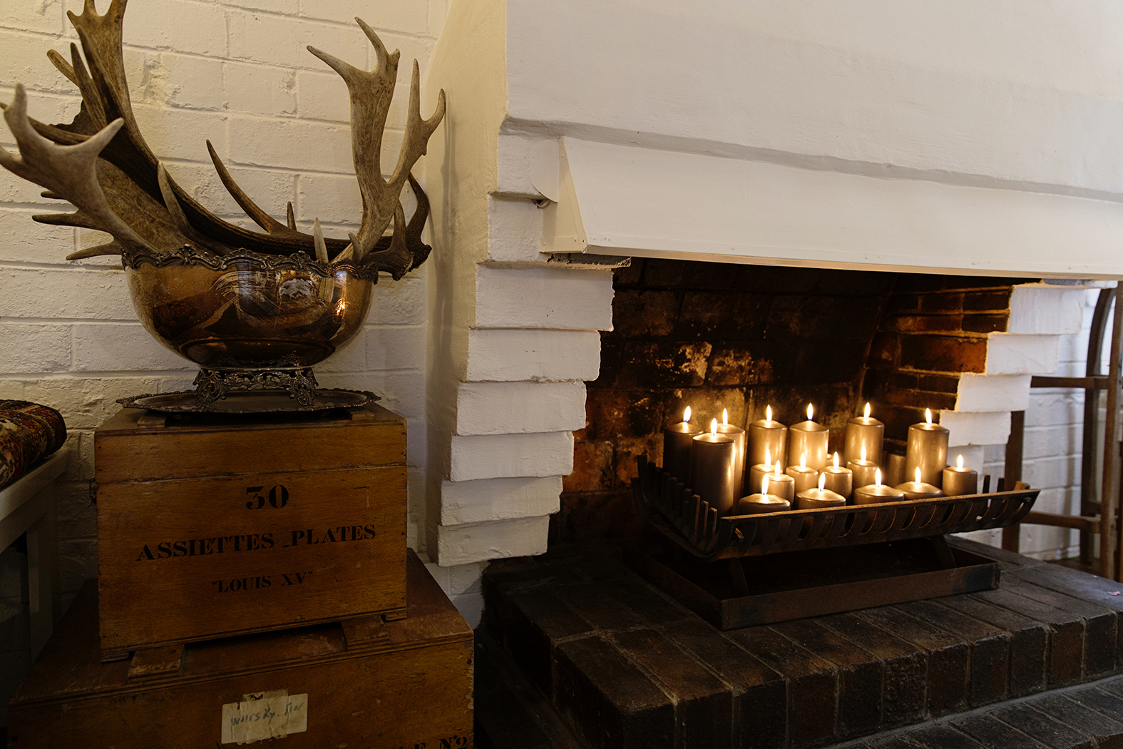 styling your fireplace with candles u2014 chyka com