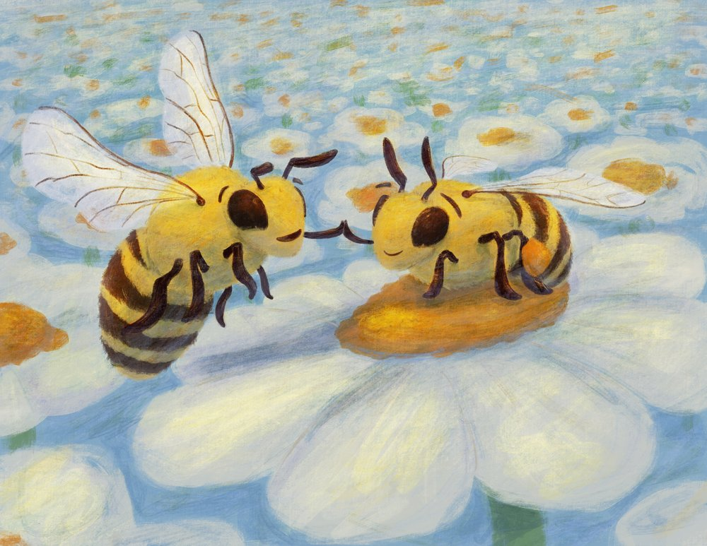 Bee Gratuful (2018) 8.5x11 Inches