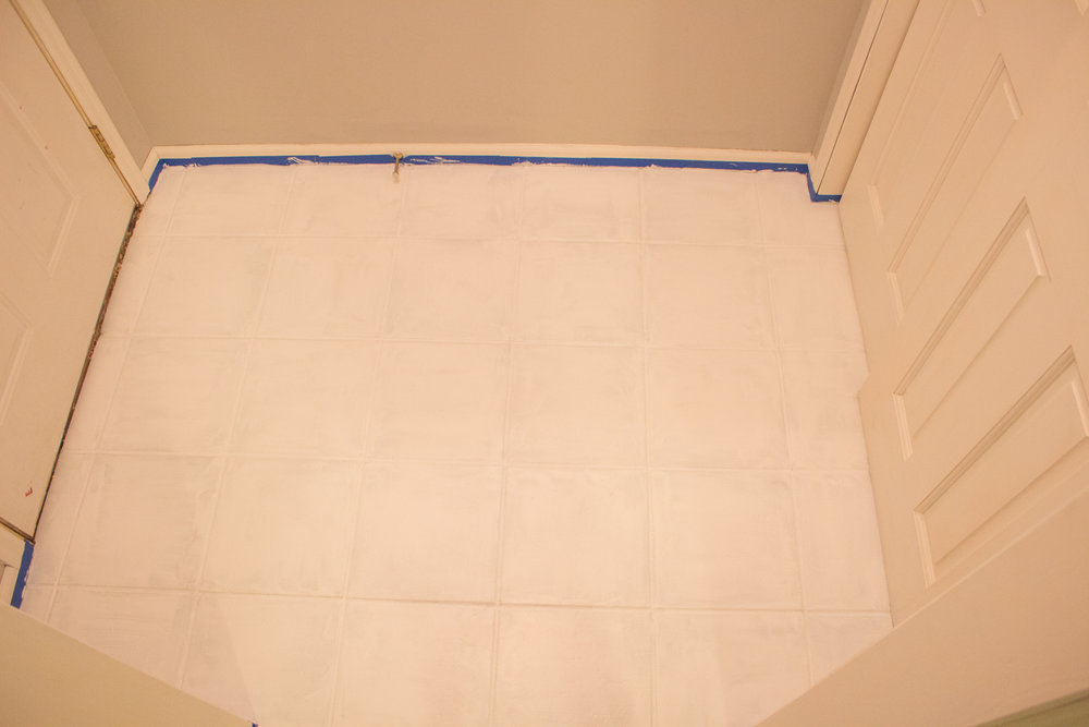 Painting Tile Floors