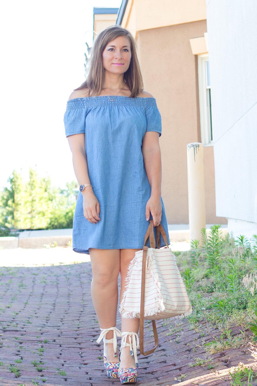 Denim Shirt Dresses