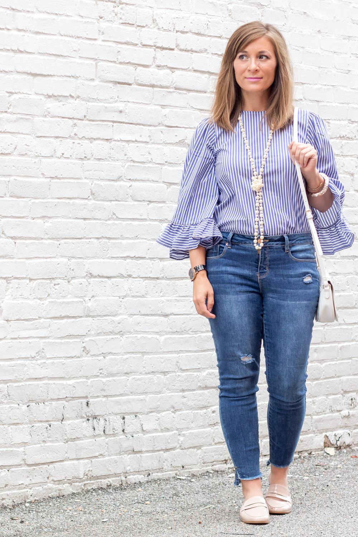 Striped Shirt Womens