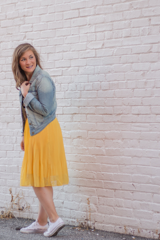 Mustard Yellow Skirt.jpg