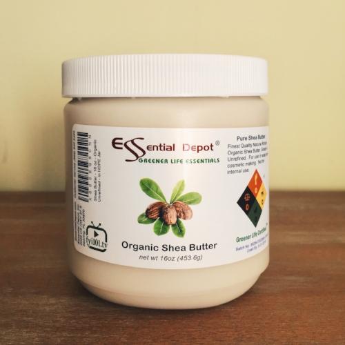 Organic raw shea butter (solid)