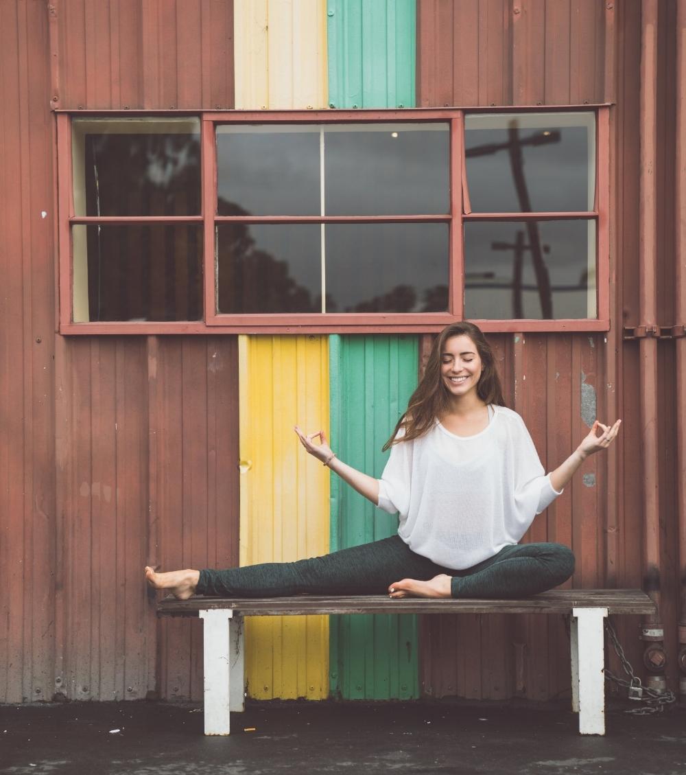 Photography by @chrispoops // Sweater: Velvet by Graham & Spencer // Yoga Pants: Beyond Yoga