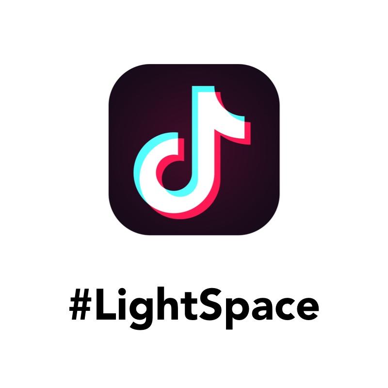 LightSpace app on tik tok app