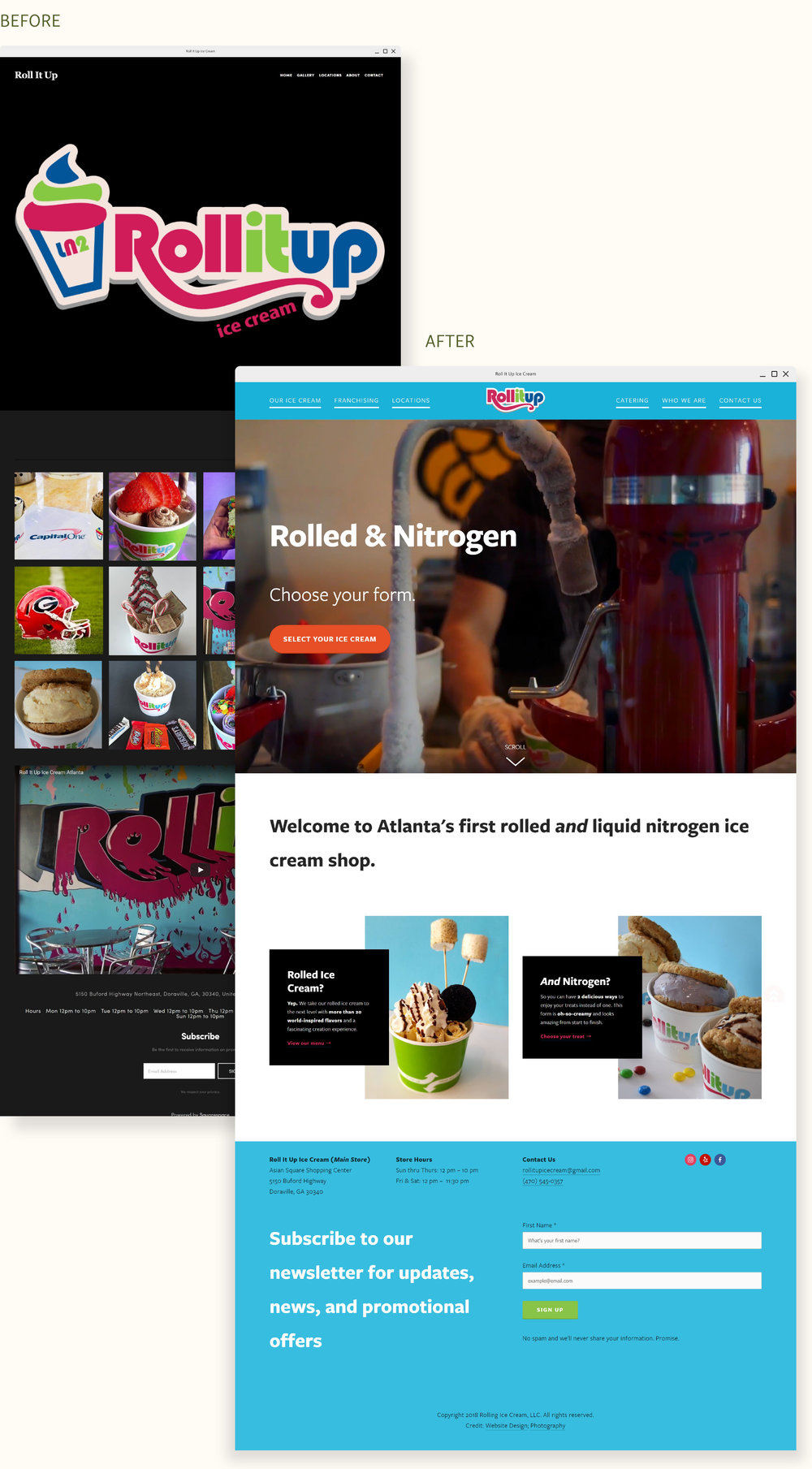 RollItUpIceCrea_mobilesite_UI_graphicdesign_BeforeandAfter.jpg