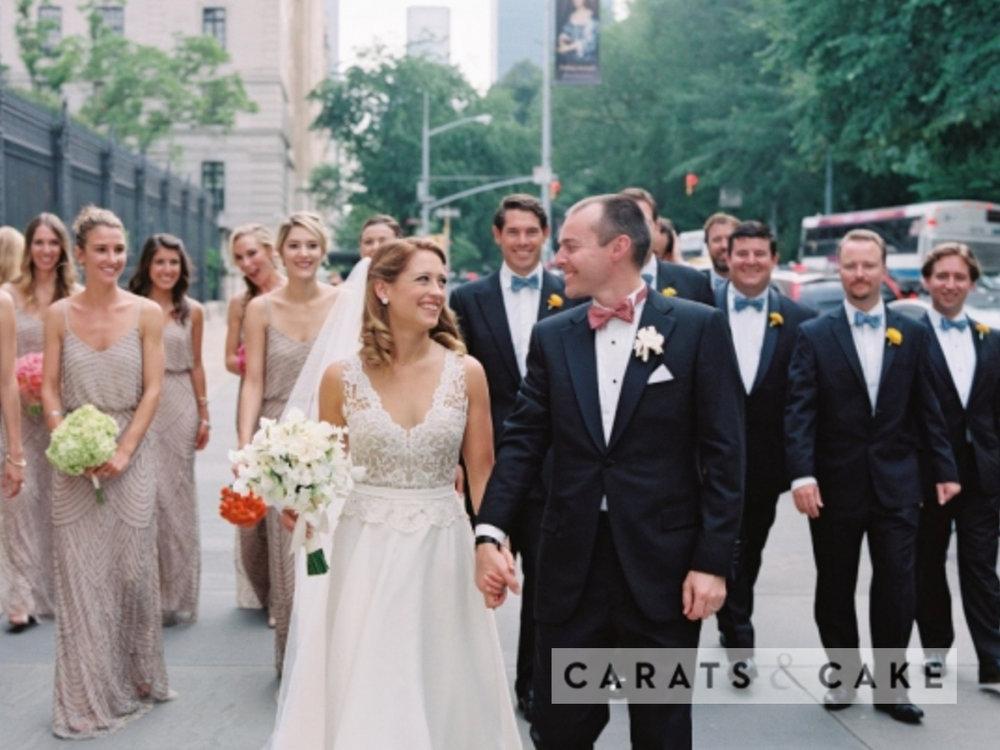CARATS & CAKE:  KIERSTIN & COURT