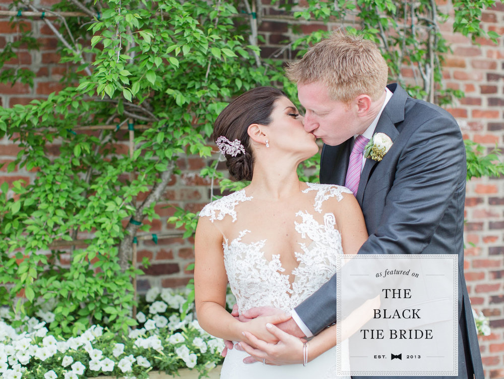 THE BLACK TIE BRIDE: CHIC NEW JERSEY WEDDING