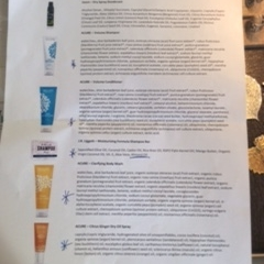 Bring a printout of products' ingredients and get to the bottom of your skin issues.