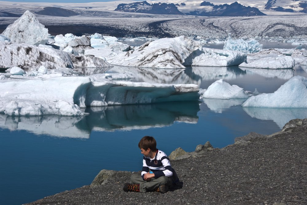 Jökulsárlón Glacier Lagoon, Iceland (photo by Nadya)