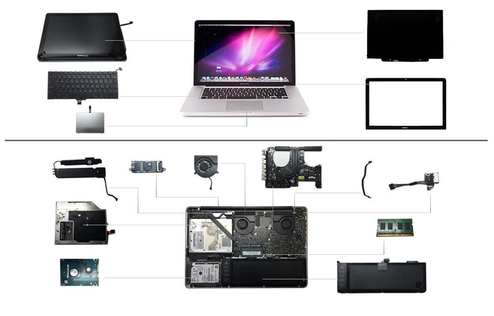 """15"""" Macbook Pro 2010 (A1286)"""