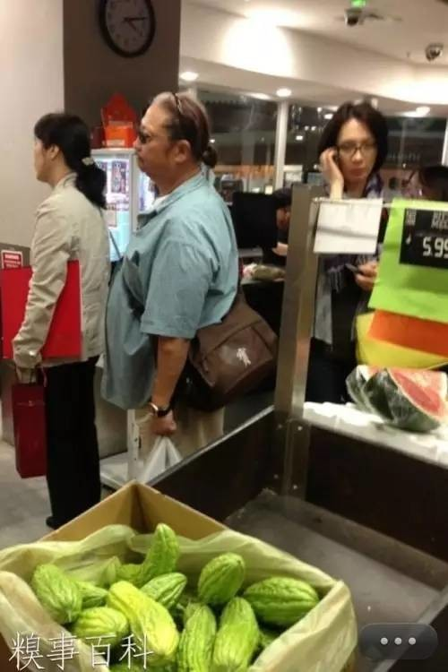 Sammo Hung doing some shopping in Box Hill