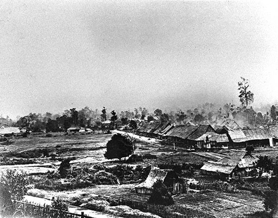 Kuala Lumpur in the 1800s