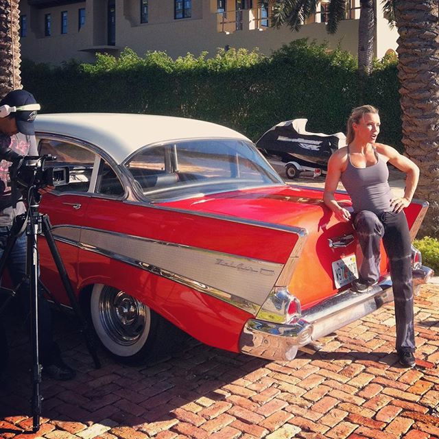 Nice day for a ride. Enjoy your weekend! #classiccar #ironbeauty #tvpilot #natpe #starisland #videoagency #collectorcar #videoproduction