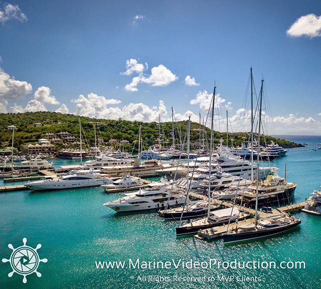 Some yachts we've filmed in Antigua for @marinevideopro // tomorrow I'm off to the Bahamas for 3 days onboard a brand new 98' Sunseeker. Let's go! #antigua #yachtvideo #yachtlife @bosstalkpro #luxury #yachtphotographer @sailingweekantigua