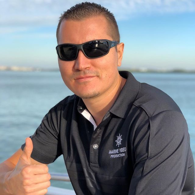 Very impressed with the new portrait camera on @Apple iPhone X.  Here's Chris - our @marinevideopro content creator captured today after a yacht shoot. #iphonex #portrait #photography #videoagency #mvp #miamitech