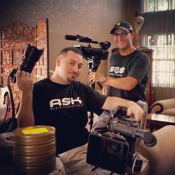 Some old school Monday production action with @askmediaproductions // now we're both proud fathers.. Back the our babies were HDV, DSLR and Film Cameras 🎥. Can't say we haven't been in this game for a while.. #setlife #memory #producers #growingup #beanovision #videoagency #producers #videoproduction #askmedia #friends #throwbacktuesday