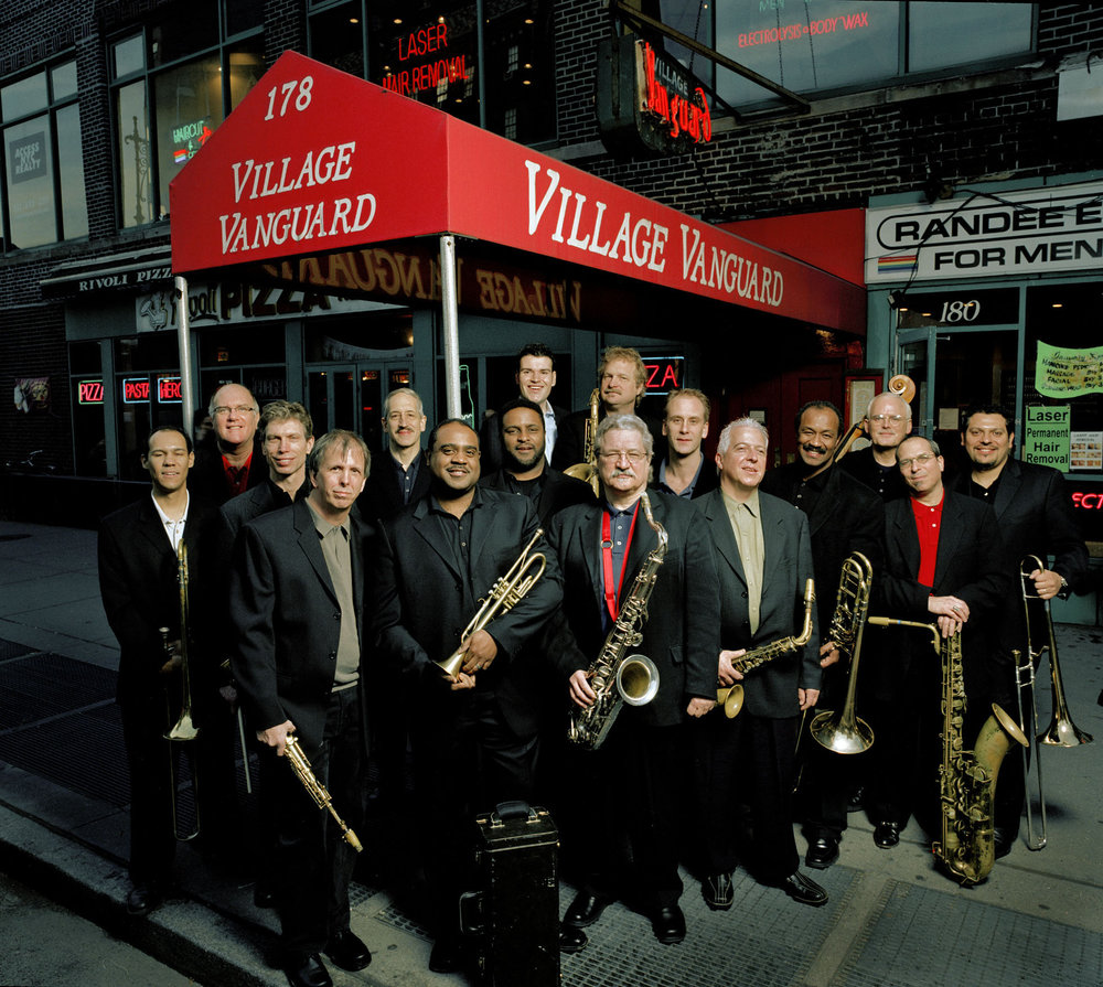 Vanguard Jazz Orchestra Family Photo