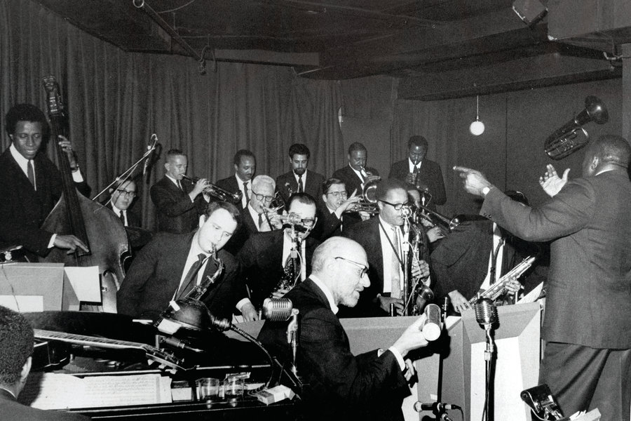 1966-1978:  Thad Jones/Mel Lewis Jazz Orchestra -  Thad Jones, who was featured in the Count Basie Orchestra, and LA based drummer Mel Lewis, who played with Stan Kenton Orchestra, started the band in 1966 with some of the top studio musicians in NY. The beautiful melodies and unique arrangements of Thad Jones enchanted the audience. The mixture of the music from diverse backgrounds created the innovative sound and the band was quickly recognized as a world's class big band.