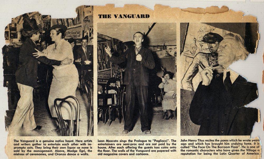 The Vanguard in 1935