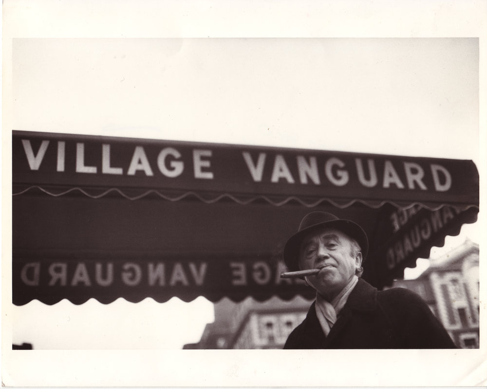 Max Gordon outside the Vanguard
