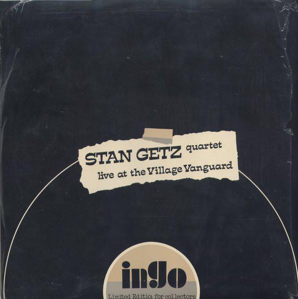 """1957 Stan Getz """"Live at the Village Vanguard"""""""