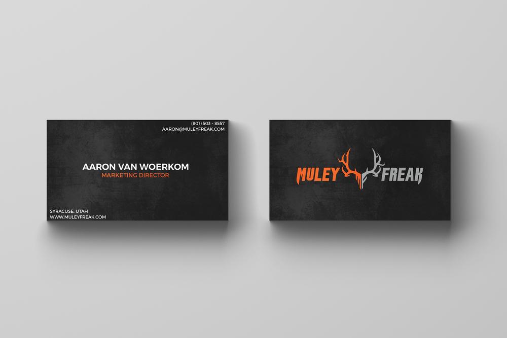 MF Traditional Business Card — Cameron Sticka    Graphic & Web Design