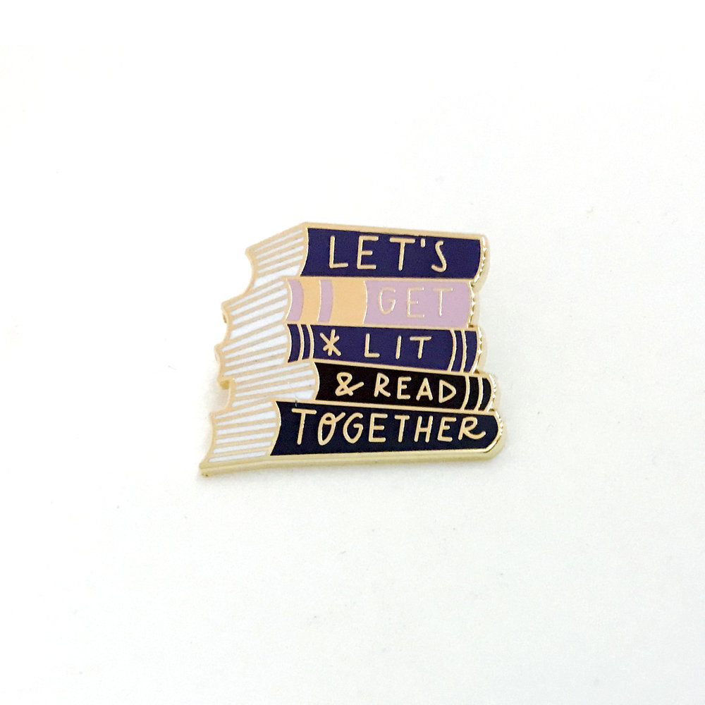 Let's Get Lit and Read Together (pin)