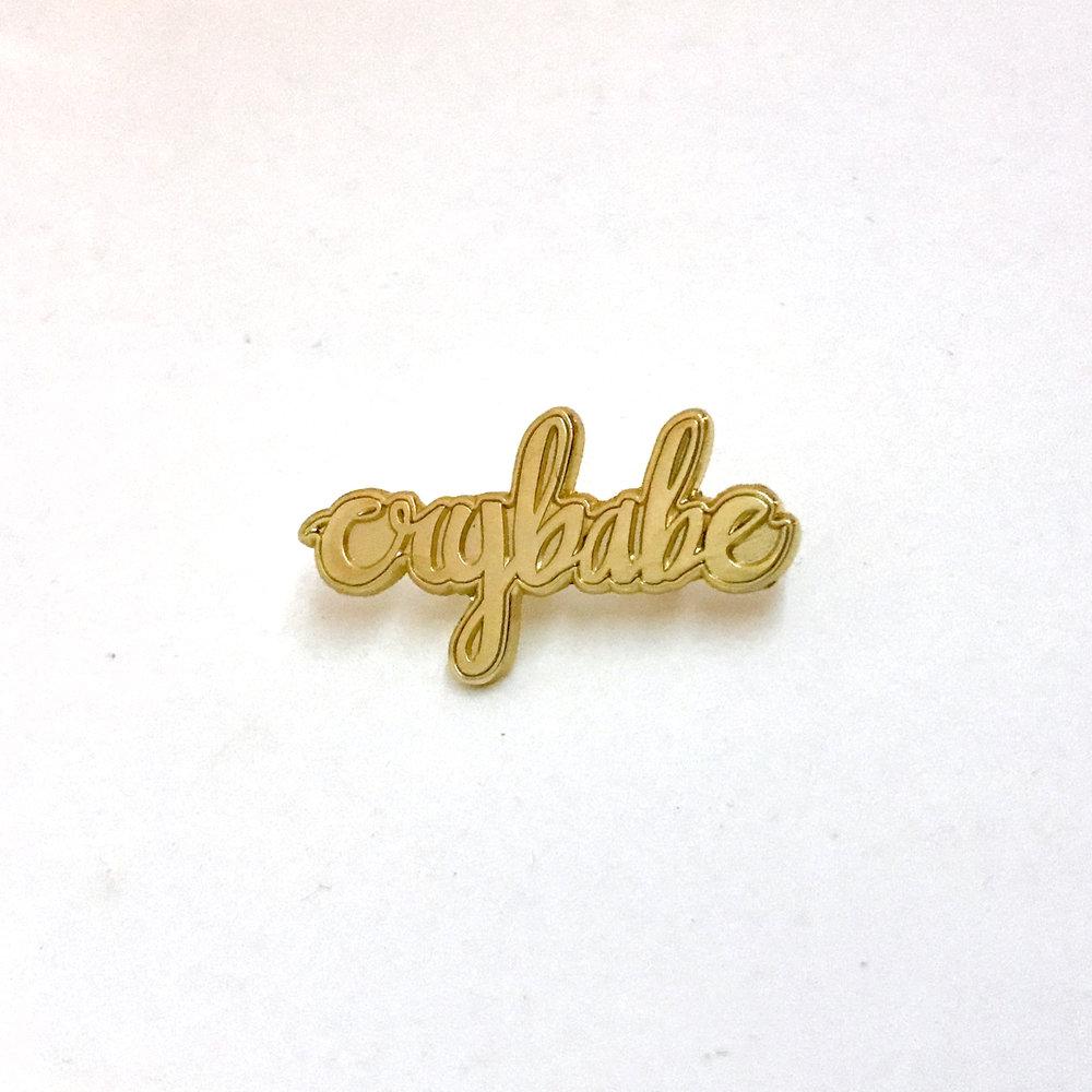 Crybabe (pin)