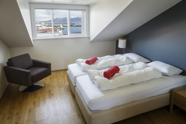 Photo of the Reykjavik Downtown Hostel Photo taken from Hostelling International Iceland