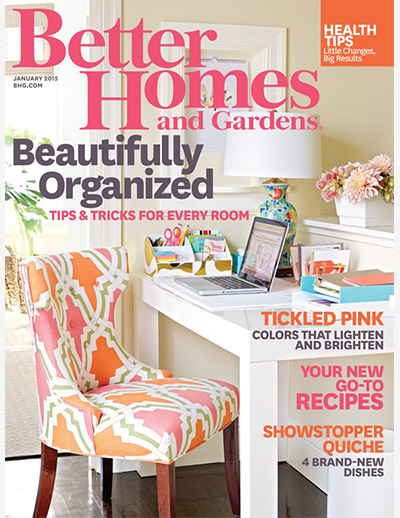 Better Homes and Gardens - We're Blushing