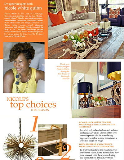 Designer Insights with Nicole White