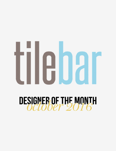 TileBar  - October 2016, Designer of the Month
