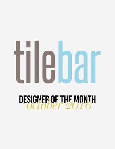 TileBar  - October 2016, Designer of the Month
