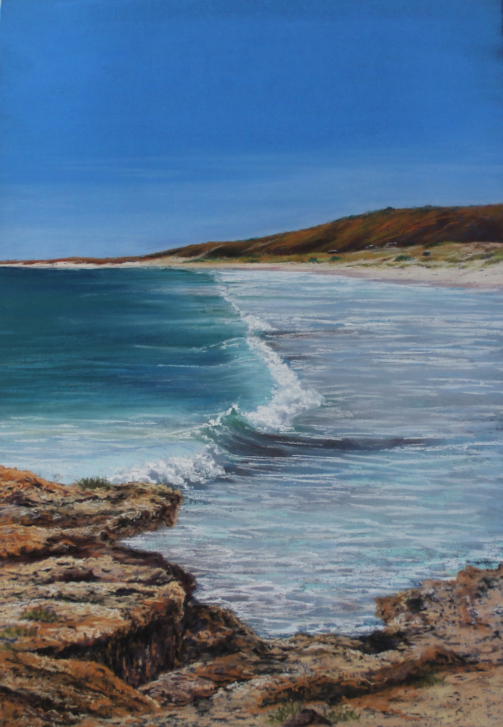 Ann Steer is a Western Australian Seascape artist.  Ann was so inspired by recent travels to Cable Beach, Gnaraloo and Sandy Cape and has created a collection that showcases Western Australia's powerful coastline, serene beaches and ever changing oceans.  There will be works on display in both pastels and acrylics.